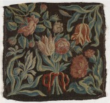 Floral Tapestry Cushion Cover...