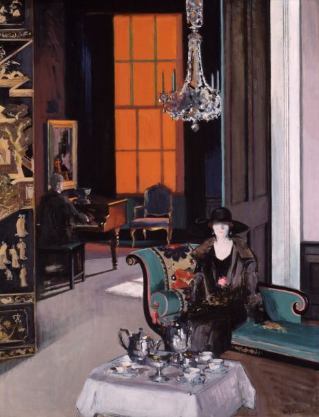 Interior - The Orange Blind Study...