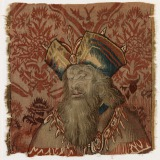 Bust of a Patriarch Wool tapestry...