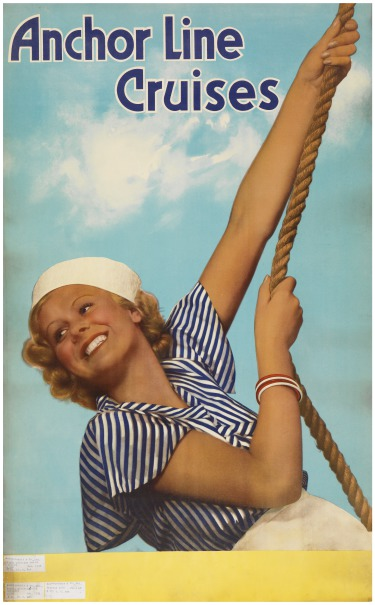 Anchor Line Cruises Poster,  '...
